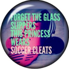 Snap button Glass slipper soccer cleat Princess 12mm charm chunk interchangeable