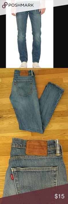 Men's Levi's White Oak Cone Denim 511 Men's 511 Levi's made from white oak cone denim. Size W 31 L 32 Levi's Jeans