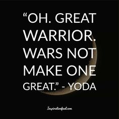 Yoda is one of the most well-known and beloved characters in the Star Wars franchise. Check out these wise Yoda quotes. Most Powerful Jedi, Famous Vampires, Yoda Quotes, Beloved Movie, Running Jokes, Great Warriors, The Grandmaster, Awakening, Best Quotes