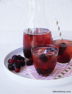 Red Berries Healthy & Skinny Iced Tea Recipe