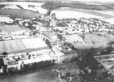 Letecký snímek Semčic