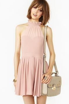 a great top for a bridesmaid dress - blushing pink