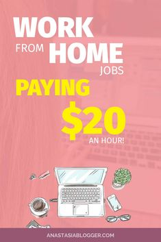 Work from home jobs are flexible and good to make some extra cash. Check the list of legit companies paying $20 an hour or more! WAH jobs for stay at home moms in transcription, translations, editing, proofreading, medical coders, online tutors, phone customer support and others!