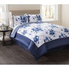 Valentina 4-Piece Bedding Comforter Set, Multicolor