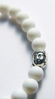 Original Kayleigh Falcus White Buddha Bracelet. https://www.facebook.com/kayleighfalcusjewellery