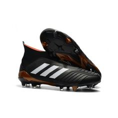 f9d4cdf77f4ec Cheap Adidas Predator 18 FG Laceless Football Boots - Core  Black White Solar Red
