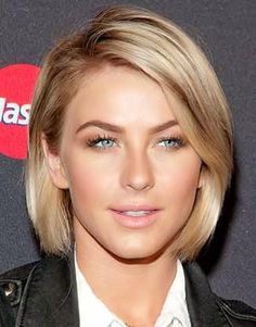 Julianne Hough chin length hair