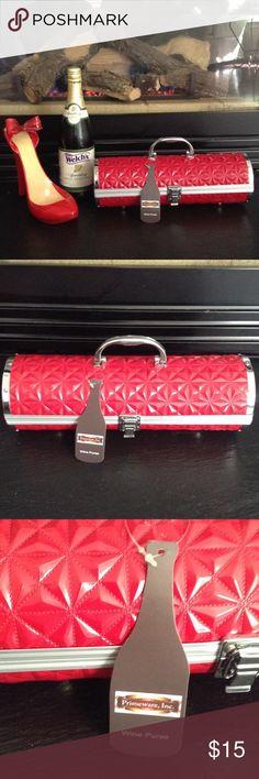 Prime ware Wine Purse New never used wine purse Primeware Bags