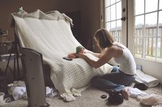 Inspiration For New Born Baby Photography : behind the scenes of a newborn shoot with Lacey Meyers Photography