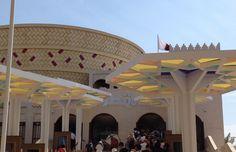 #qatar #pavilion #expo2015 #milan