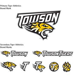 towson tiger paw | Towson University Athletics Logo Towson Tigers, Athletics Logo, Towson University, Tiger Paw, Schools, Athlete, Graduation, Logos, Party