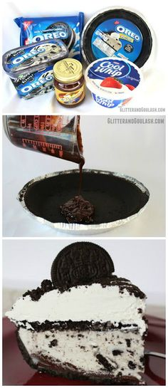15 Minute Oreo Overload Ice Cream Pie Recipe- YUMMM!!