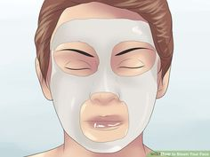 How to Steam Your Face: 12 Steps (with Pictures) - wikiHow Steaming Your Face, Facial Steaming, Honey Facial, Laser Surgery, Clay Masks, Wash Your Face, Pictures, Photos