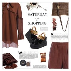 """""""Saturday is for Shopping"""" by shambala-379 ❤ liked on Polyvore featuring Lauren Ralph Lauren and L.A. Girl"""