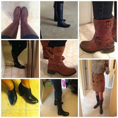 Pinterest Told Me To readers showing off the boots they scored at the Nordstrom Anniversary Sale!