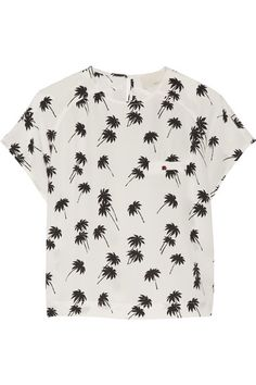 silk-crepe top / band of outsiders