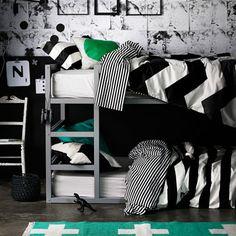 Wide Stripe Creme & Black
