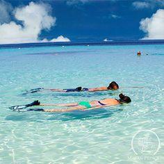 Snorkeling at #WestBayBeach #Roatan