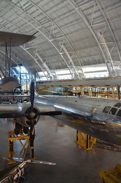 "(Posted from precisiontype.com) A handful of nice higher precision engineering photos I found: Steven F. Udvar-Hazy Center: south hangar panorama, including Vought OS2U-3 Kingfisher seaplane, B-29 Superfortress ""Enola Gay"", among other people  Image by Chris Devers Quoting Smithsonian National Air and Space Museum... Read more on http://www.precisiontype.com/cool-high-precision-engineering-pictures/"