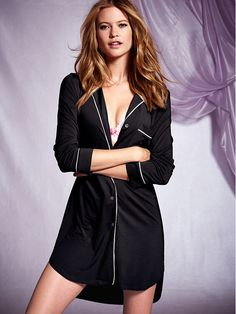 Find More Information about Fashion pure 100% cotton sleepwear female autumn long sleeve V neck black cardigan plus size long design nightgown sexy lounge,High Quality cardigan black,China nightgown girl Suppliers, Cheap cardigan girls from 3 Rabbit on Aliexpress.com
