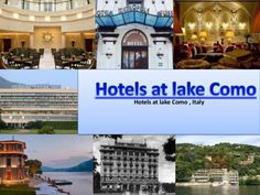 Property at Lake Como brings best hotels listings for Lake Como through its website. The slide introduces one of the most celebrated hotel names in Italy for vacationers