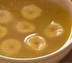 Sopa de platano verde