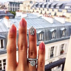 Love the loose band, love this pic. ❤️ ::Match Your Wedding Band with Your Nail Art Wedding Nails, Wedding Jewelry, Wedding Rings, Wedding Band, Engagement Wedding Ring Sets, Ring Verlobung, Diamond Are A Girls Best Friend, Marie, Dream Wedding