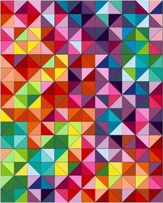 35 Easy Quilts To Make This Weekend 'Postcard from Sweden' Quilt pattern Quilting Tutorials, Quilting Projects, Quilting Designs, Modern Quilt Patterns, Quilt Patterns Free, Free Pattern, Half Square Triangle Quilts, Square Quilt, Colchas Quilt