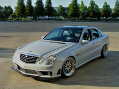 mercedes benz e55 amg by renntech on adv1 wheels voiture. Black Bedroom Furniture Sets. Home Design Ideas