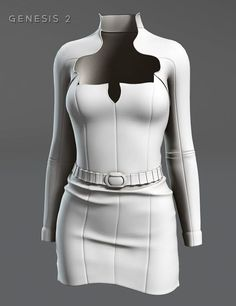 Galaxy for Genesis 2 Female(s) | Clubwear Dresses for Daz Studio and Poser