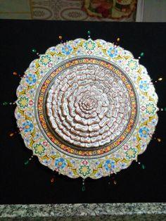 Esmaül hüsna rölyefim Decoupage, Decorative Plates, Tableware, Home Decor, Dinnerware, Decoration Home, Room Decor, Tablewares, Dishes