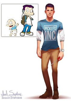 Amazing Art Work Shows the Babies from Rugrats all Grown Up!   moviepilot.com