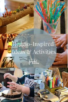 Follow for Reggio-Inspired Activities and Ideas! #ReggioInspired #Fairydustteaching #atelier #looseparts