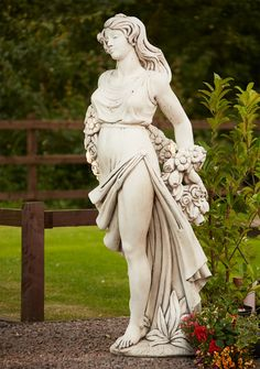 Celine 200cm Stone Sculpture Large Garden Statue. Buy Now At Http://www