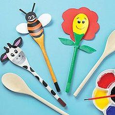 como decorar cucharas de formas divertidas