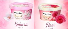 Häagen-Dazs Celebrates 30 Years In Japan With Rose And Sakura Flavored Ice Cream