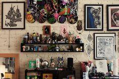 Hypebeast Spaces: Lucky Olelo's Tattoo Studio   Hypebeast