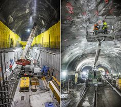 Amazing Photos of NYC's Second Avenue Subway Line Under Construction   Construction Citizen