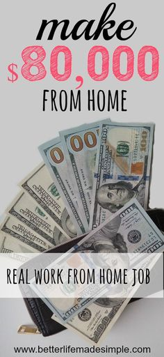 Want to make money without ever leaving your home? Legitimate work from home jobs can change your life for the better. Continue reading to learn how you can get financial freedom with no experience and work from anywhere in the world. #legitimatework #workfromhome #noexperience #workwhiletraveling #onlinejobs #careers #makemoney #extraincome