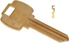 50 Pack Kaba Ilco NA14-BR National Key Blank