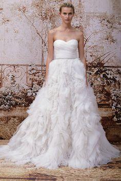 Monique Lhuillier Bridal Fall 2014: A Fairytale Romance