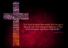 115 Best For God So Loved The World Images Bible Verses Jesus