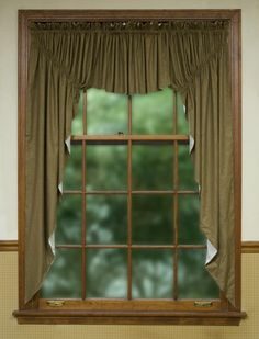 Virginia House Country Curtain for Wider Windows
