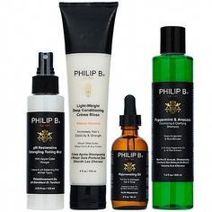 Philip B Four Step Hair & Scalp Treatment Set Best Holiday Gift Guide Ideas: Makeup, Skincare, Fragrance, Candles, Sets, Products, Reviewed 2015, 2016
