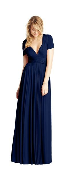 twobirds Bridesmaid | Classic available long and short. Wear it 15 different ways.
