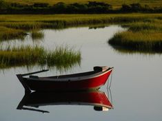 A little boat, a little salt marsh