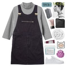 """""""it was always going to end"""" by british-mints ❤ liked on Polyvore featuring Monki, Margaret Howell, adidas, Davines, Zara Home, The Fine Bedding Company, Xenab Lone, Korres and NARS Cosmetics"""