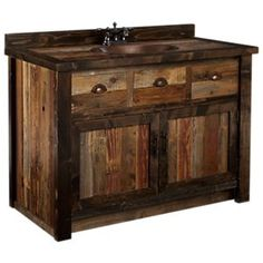 Buy the Barnwood Furniture Collection Bathroom Vanity and more quality Fishing, Hunting and Outdoor gear at Bass Pro Shops. Retro Bathrooms, Cheap Bathrooms, Primitive Bathrooms, Rustic Bathrooms, Luxury Bathrooms, Guest Bathroom Remodel, Bathroom Makeovers, Budget Bathroom, Bathroom Remodeling