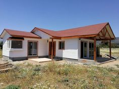 Small Cottage Homes, Bamboo Construction, Casa Patio, Kerala Houses, Rural House, Farmhouse Plans, Kids House, Shed, New Homes