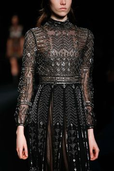 Gown for a Tyroshi woman, who are known to love ornate clothes with precious gems. Valentino, Fall 2015